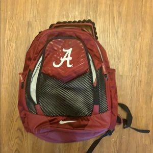 University of Alabama Nike backpack